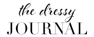 The Dressy Journal -